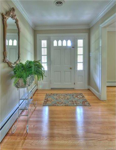 2 front hallway